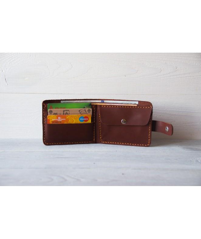 Кожаное портмоне Drakkar 101.2 из натуральной кожи