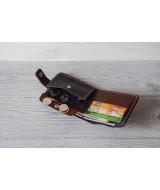 Кожаное портмоне Drakkar 101.3 из натуральной кожи