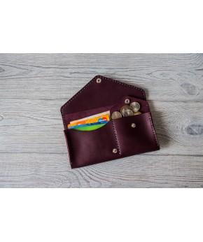 Кожаный кошелек Drakkar 201.8 из натуральной кожи