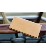 Кожаный Кошелек Ezcase Flight из натуральной кожи (Песочный)