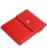 Кожаный зажим для денег Ezcase Duo из натуральной кожи (Красный)