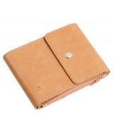 Кожаный зажим для денег Ezcase Duo из натуральной кожи (Песочный)