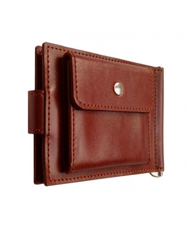 Зажим для денег Ezcase Standart Pro из натуральной кожи (Коричневый)