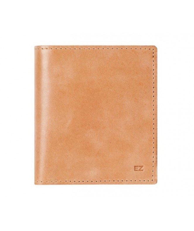 Кожаный Кошелек Ezcase Compact из натуральной кожи (Песочный)