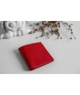Кожаный Кошелек Ezcase Compact из натуральной кожи (Красный)