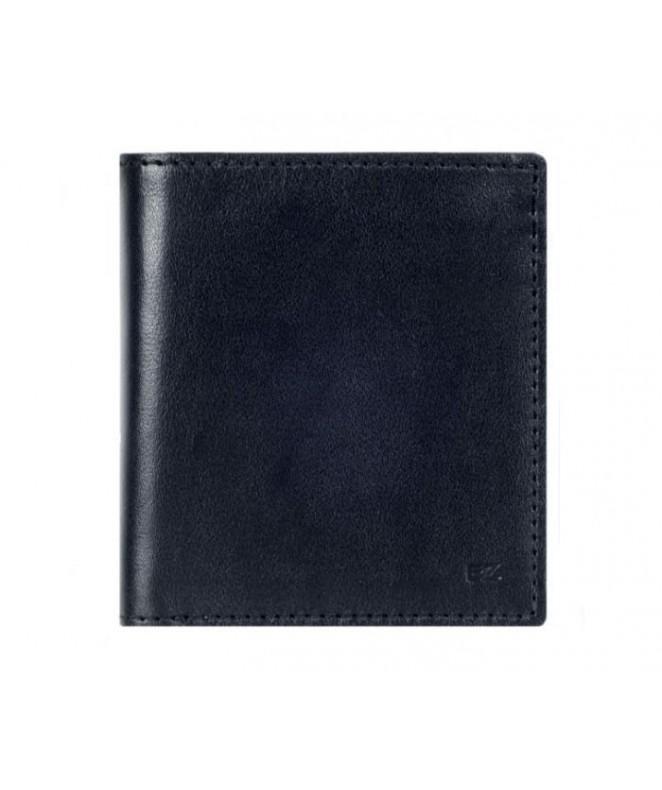 Кожаный Кошелек Ezcase Compact из натуральной кожи (Черный)