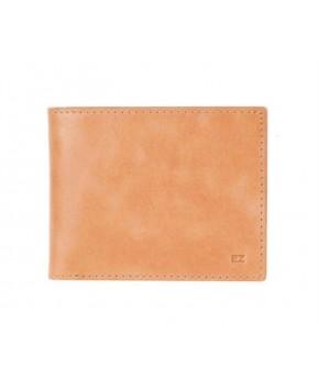 Кожаный Кошелек Ezcase Slim из натуральной кожи (Песочный)
