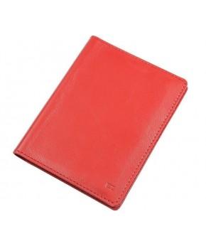Обложка для автодокументов Ezcase из натуральной кожи (Красная)