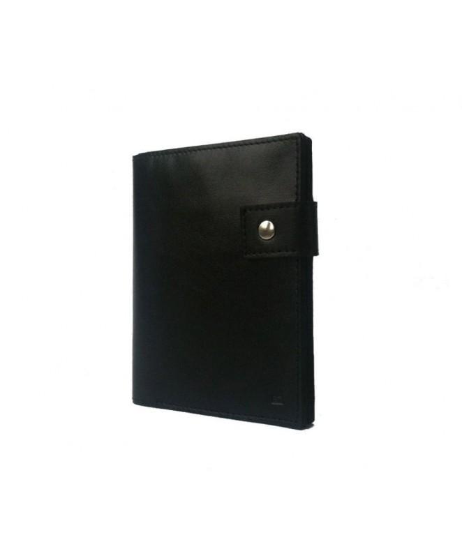 Кожаное Портмоне Ezcase C12 из натуральной кожи (Черное)
