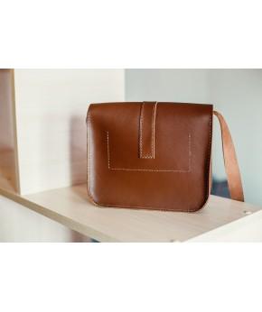 Кожаная сумка Snail B201 из натуральной кожи