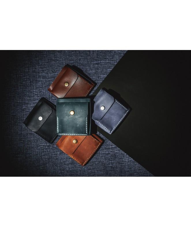 Кожаный кошелек Snail W202 из натуральной кожи