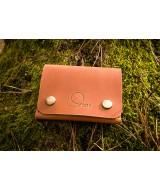 Кожаный кошелек Snail W501 из натуральной кожи