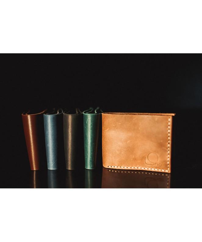 Мужской кошелек Snail W601 из натуральной кожи