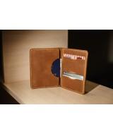 Кожаное портмоне для документов Snail Р102 из натуральной кожи