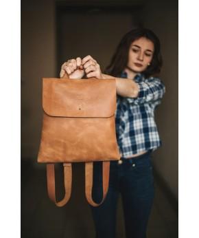 Кожаный рюкзак Snail B101 из натуральной кожи