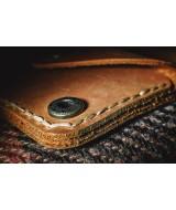 Мужской кошелек для монет Snail W401 из натуральной кожи